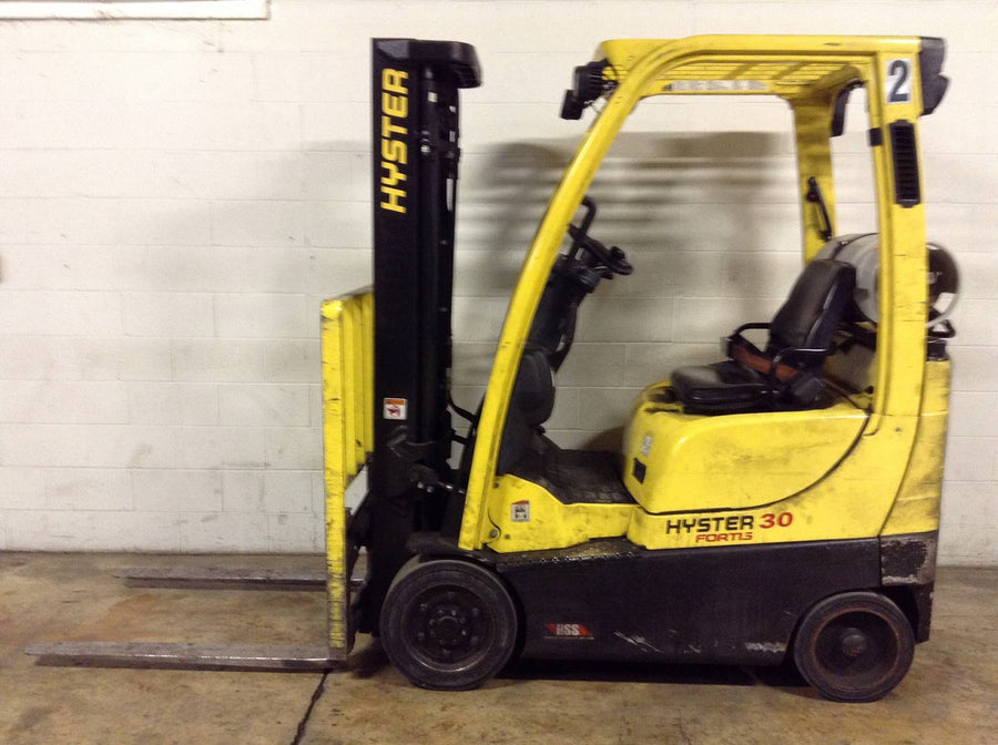 2014 HYSTER S30FT CUSHION TIRE FORKLIFT SN 2242 -CALL FOR PRICE