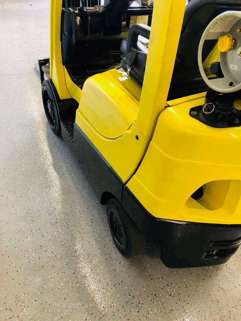 2014 HYSTER S50F CUSHION TIRE FORKLIFT SN 2228