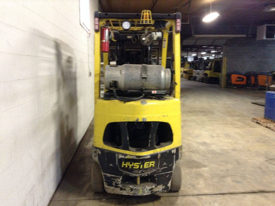 2014 HYSTER S50FT CUSHION TIRE FORKLIFT SN 2221