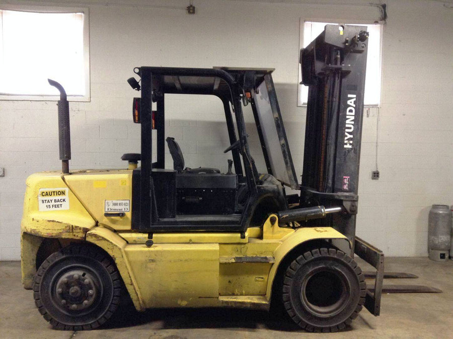 2014 HYUNDAI 70D-7A Pneumatic Tire Forklift SN 2234 - Call For Price