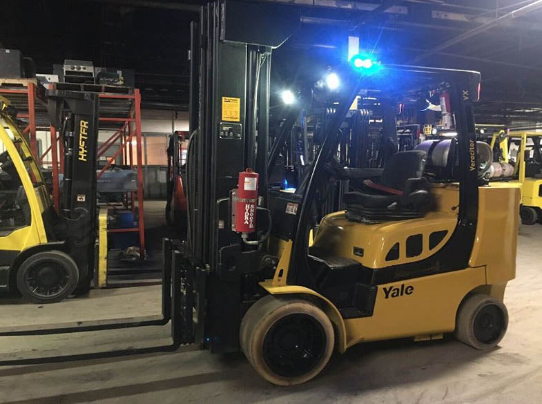 2014 YALE GLC100VX Cushion Tire Forklift SN 1083
