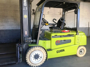2015 Clark Solid Pneumatic Forklift SN 1109
