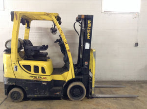2015 HYSTER S50FT CUSHION TIRE FORKLIFT SN 2241 -CALL FOR PRICE