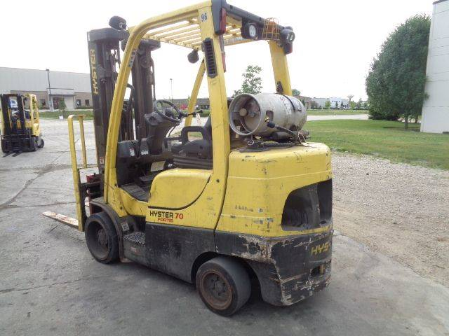 2015 HYSTER S70FT Cushion Tire Forklift SN 2137