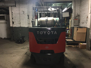2015 TOYOTA Cushion Tire Forklift SN 8001