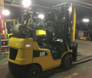2016 CAT 2C5500 Cushion Tire Forklift SN 1082