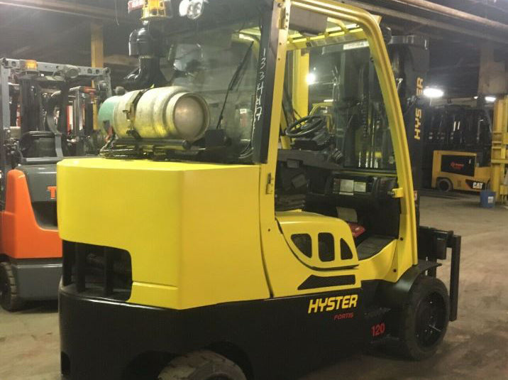 2016 HYSTER S120FTPRS Cushion Tire Forklift SN 1049