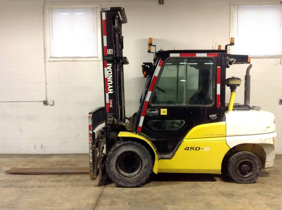 2016 Hyundai 45D-9 Pneumatic Tire Forklift SN 2324 - Call For Price