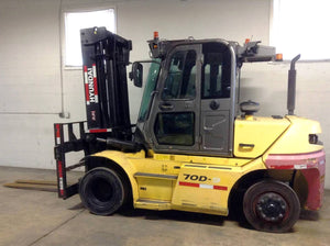 2016 Hyundai 70D-9 Pneumatic Tire Forklift SN 2320 - Call For Price