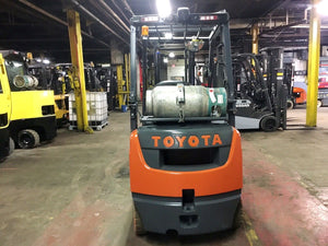 2018 Toyota 8FGU18 Pneumatic Tire Forklift SN 1044