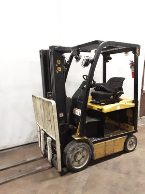 2009 Yale ERC050VG Electric Sit-Down 5000 lbs capacity SN 4015