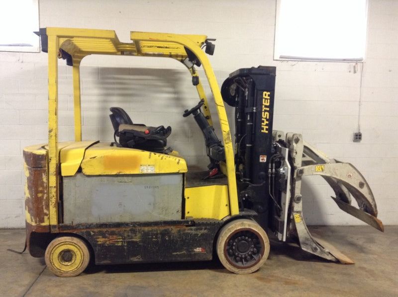 2016 Hyster E120XN Electric Sit-Down Forklift SN 3016