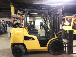 2016 CAT GP40N1 Pneumatic Tire Forklift SN 1078