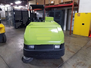 2000 American Lincoln 505-803 Sweeper Scrubber Equipment SN 2101