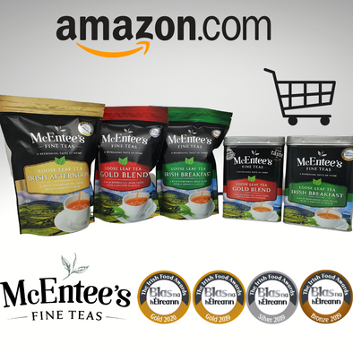 McEntee's Irish Tea now being enjoyed in America!- Shop Amazon.com