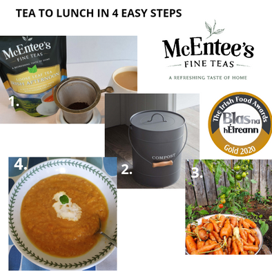 The joys of composting with McEntee's loose Tea mulch
