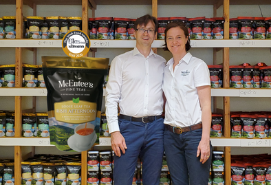 McEntee's Tea receives another Gold this year for its Afternoon Blend in the Blas na hEireann Irish Food Award!