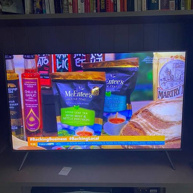 McEntee's Tea are mentioned on Ireland AM - National Morning Television!