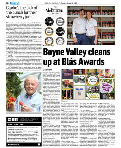Boyne Valley Cleans up at Blas Awards