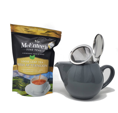 Irish Afternoon Tea with Aran Teapot Gift set - Tea for two