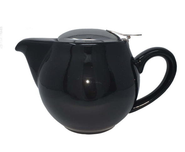 500ml Aran (1-2 cup) Ceramic Teapot Stainless Steel Lid 500ml Teapot with removable Stainless Steel Filter Available in a range of colours