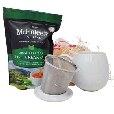 "Tea lover's ""Hug in a Mug"" Gift Set – Tea for one"