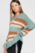 Load image into Gallery viewer, Stripe Pullover Sweater