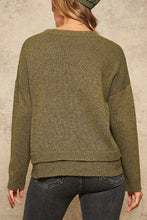 Load image into Gallery viewer, Olive Knit Sweater