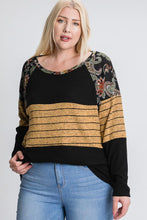 Load image into Gallery viewer, Raglan Long Sleeve Top