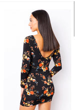 Load image into Gallery viewer, Floral Print Mini Dress