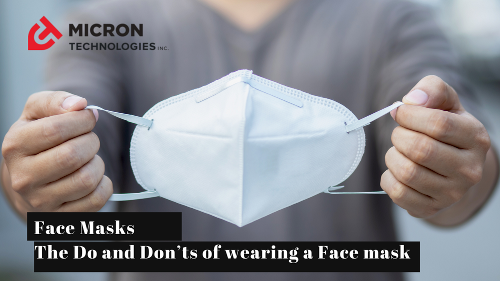 Face Masks: The Do and Don'ts of wearing a Face mask