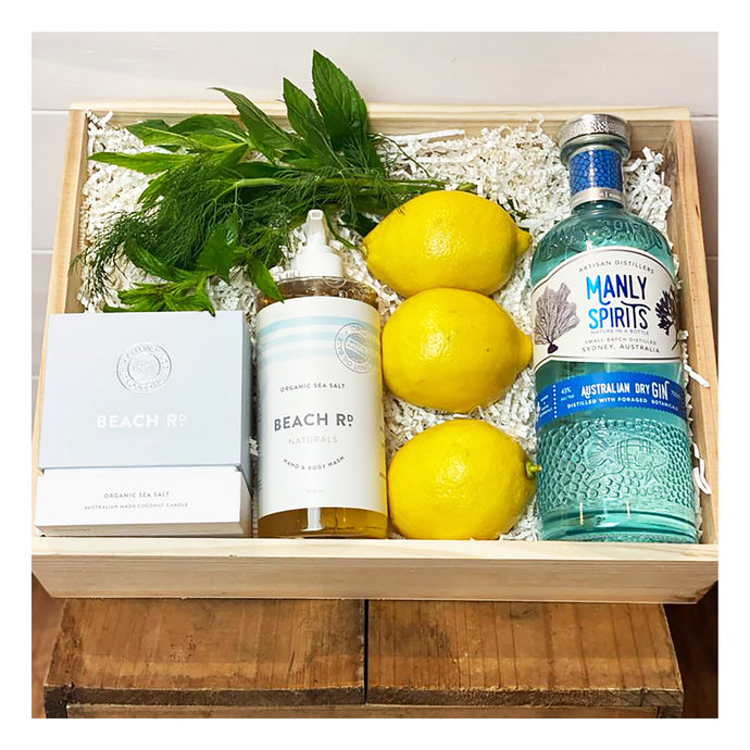 Emporio Home & Flowers - Spirit of Manly Pamper Hamper