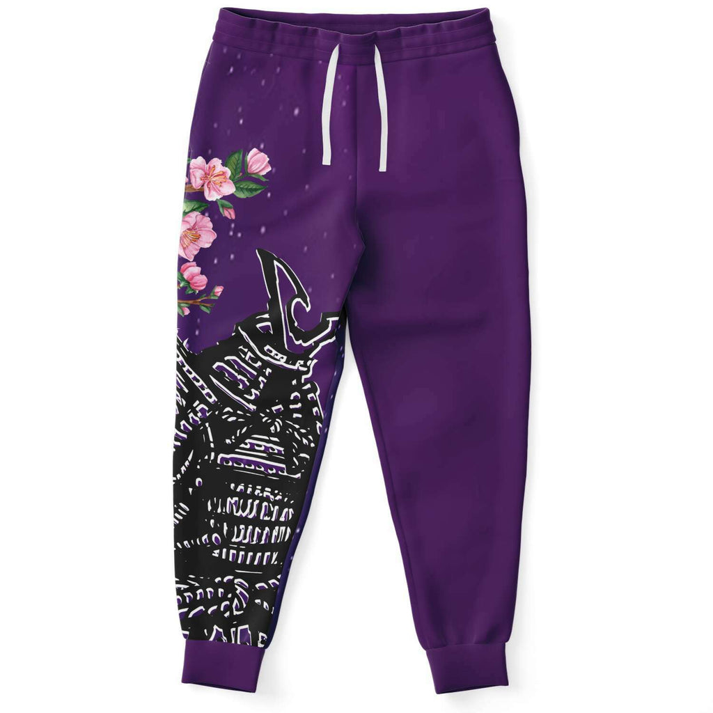 Samurai with Purple Starry Night AOP Joggers
