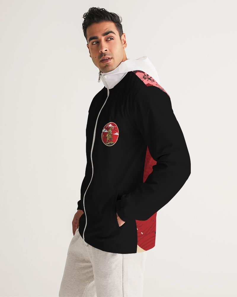 Red Samurai Men's Windbreaker