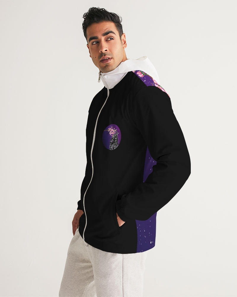 Purple Samurai Men's Windbreaker