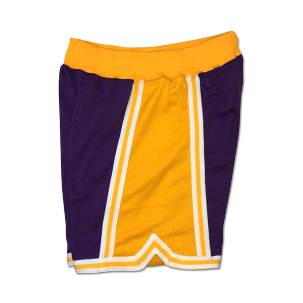 Mitchell & Ness 1996-97 Los Angeles Lakers (Purple Body) Authentic Short
