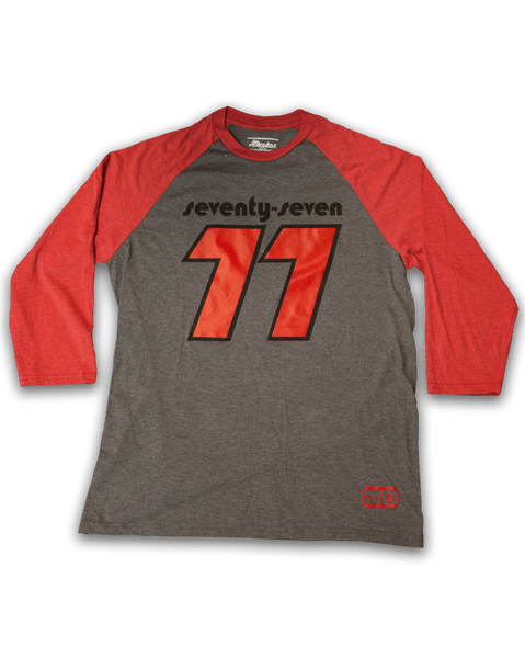 Almanac Red/Grey 1977 Portland Baseball Shirt
