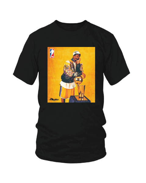 Almanac Black Kobe NBA Trophy Tee