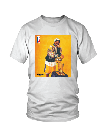 Almanac White Kobe NBA Trophy Tee