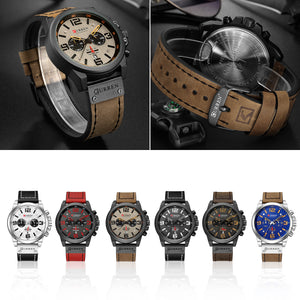 affordable automatic black quartz movt sports chronograph watches for men