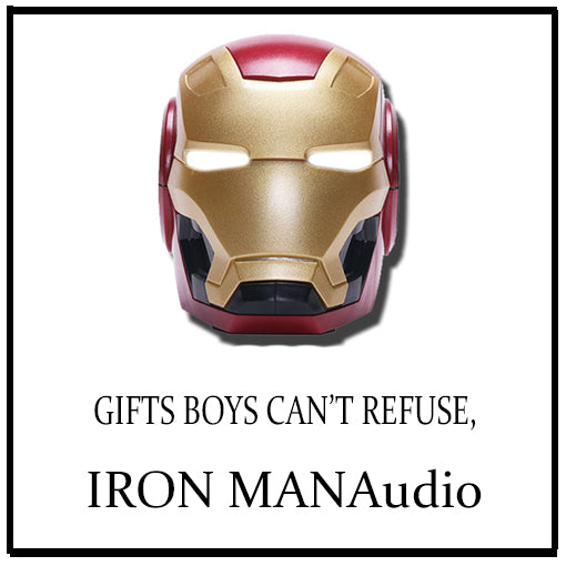 Best Portable Iron Man Wireless Bluetooth Speakers