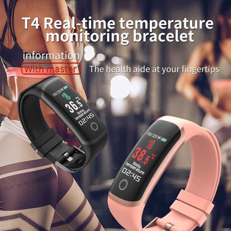 smart temperature watch