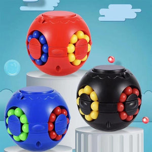Magic Bean Rotating Cube Toy