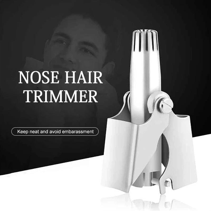 Manual Stainless Steel Nose Hair Trimmer