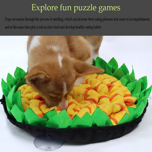 best Sunflower snuffle mat dog puzzle toys slow feed bowls sale