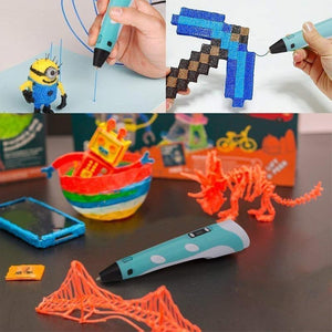 3D Printing Pen for Kids and Adults with 5m Filament(random colour & Biodegradable material)