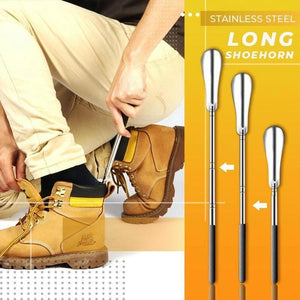 Stainless Steel Retractable Shoehorn