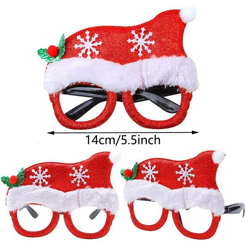 Christmas Glasses Frame (14Pcs)