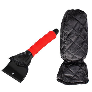 Snow Shovels with Gloves