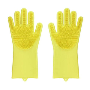 Magic Silicone Washing Gloves